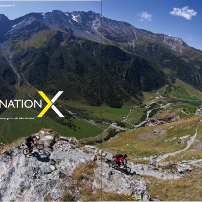Singletrack Visits Destination X