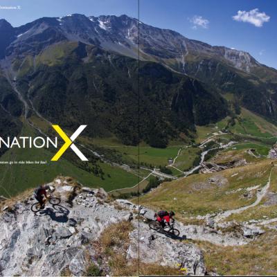 Singletrack Visits Destination X